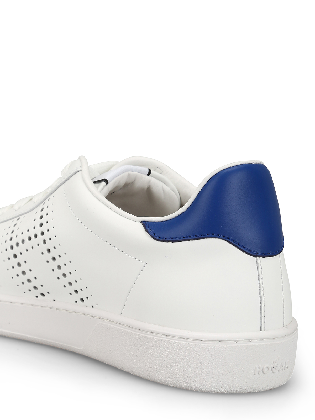 Trainers Hogan - H327 smooth leather white sneakers ...