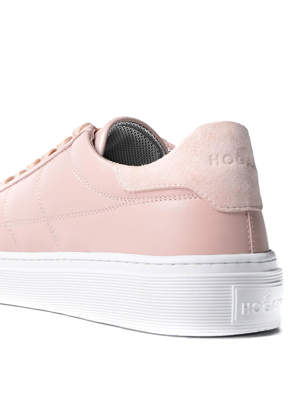 Hogan - Sneaker H340 rosa in pelle - sneakers - HXW3400J280C7HM413