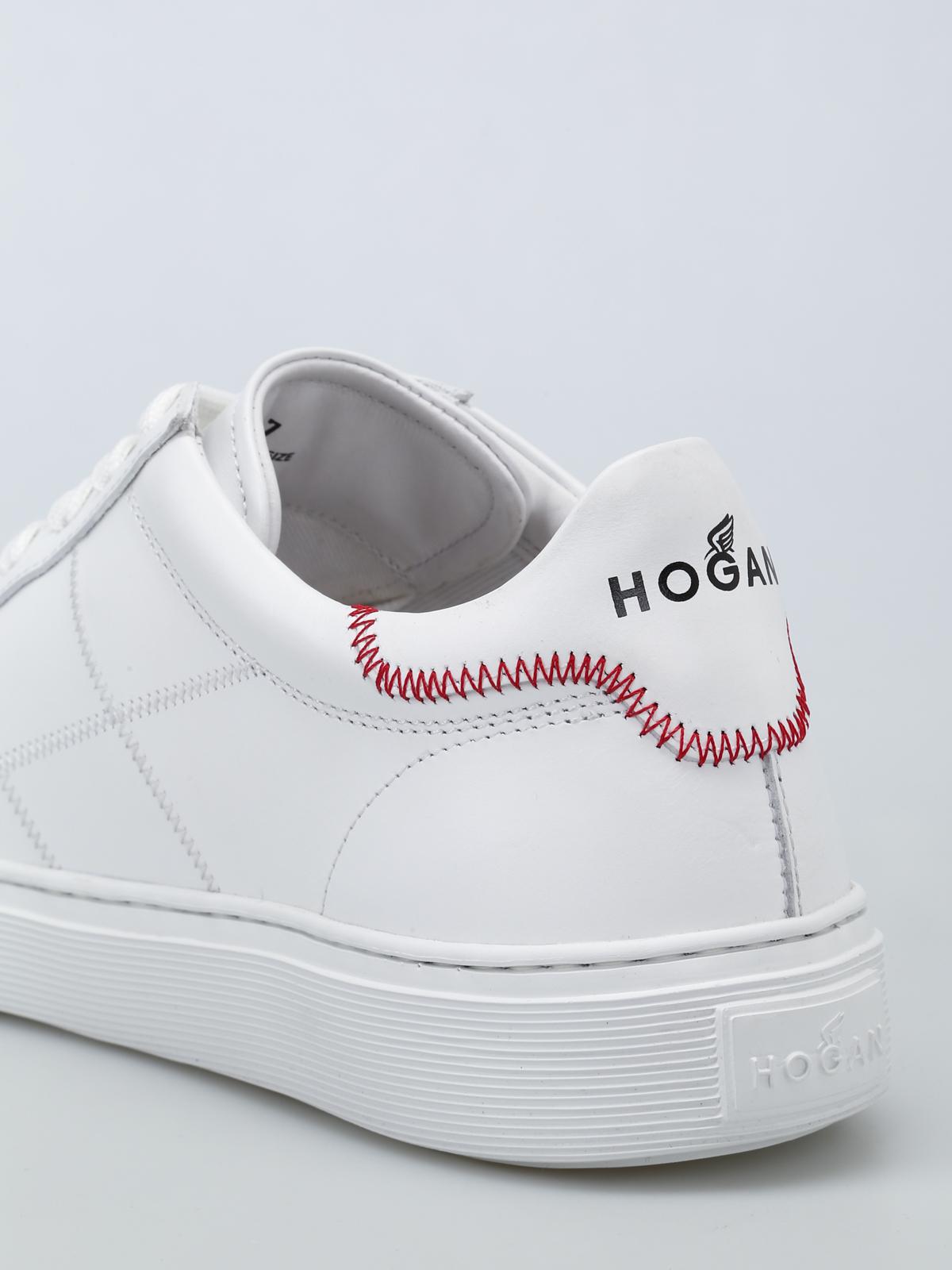 Trainers Hogan - H365 exposed stitchings sneakers - HXM3650K692KLAB001