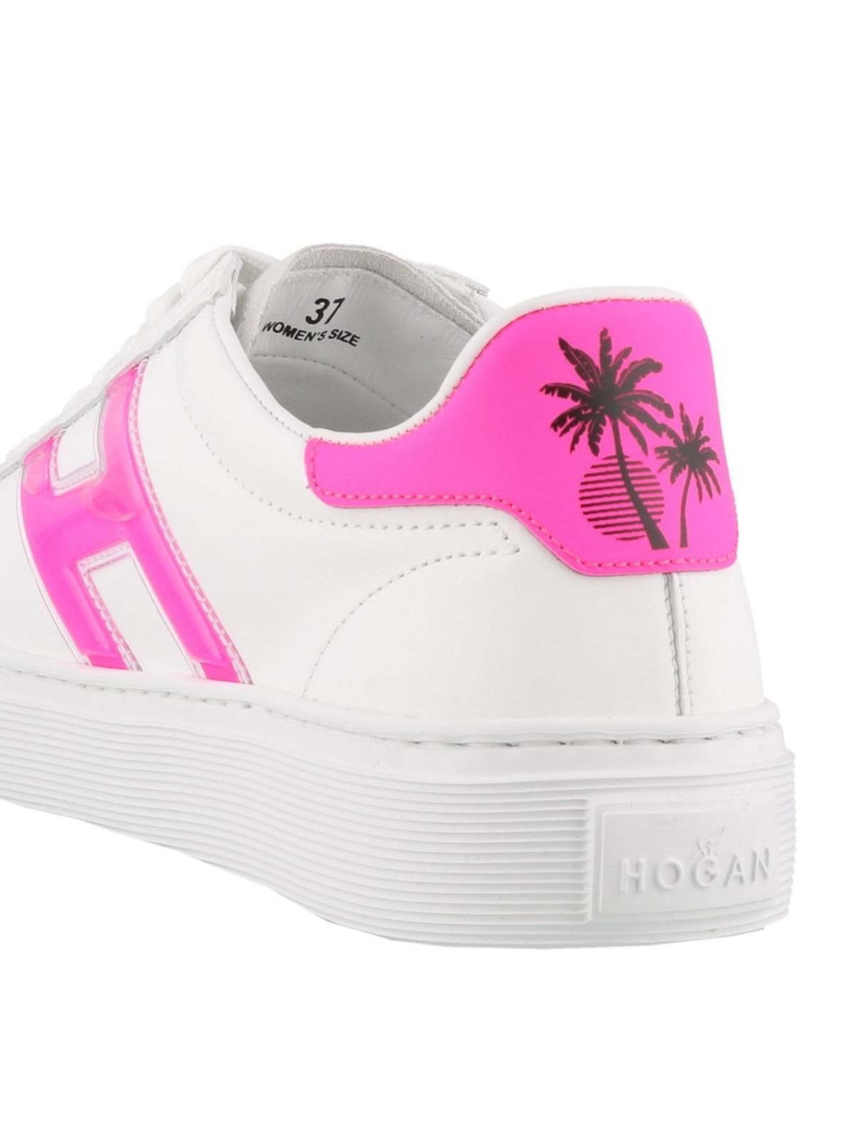 Sneakers Hogan - Sneaker H365 con dettagli fluo - HXW3650BJ50KX93724