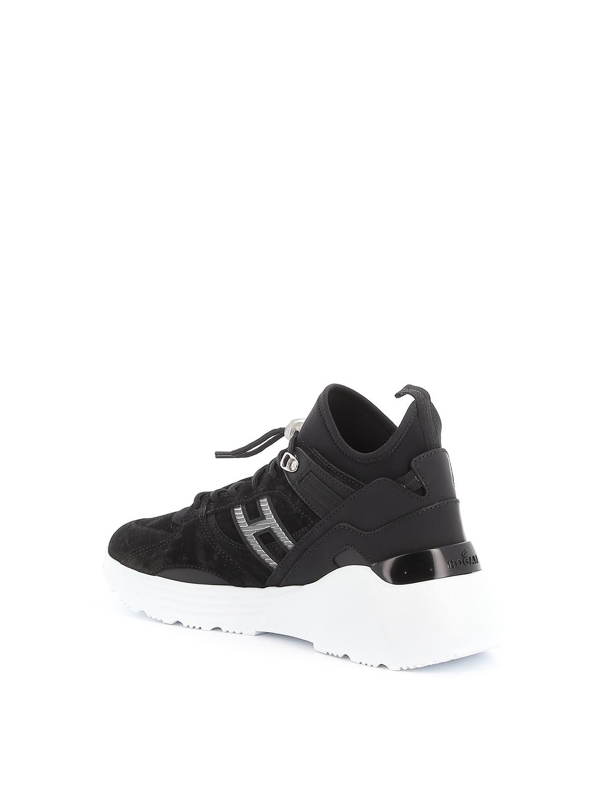 Trainers Hogan - H443 sneakers - HXM4430BX90LRPB999   Shop online ...