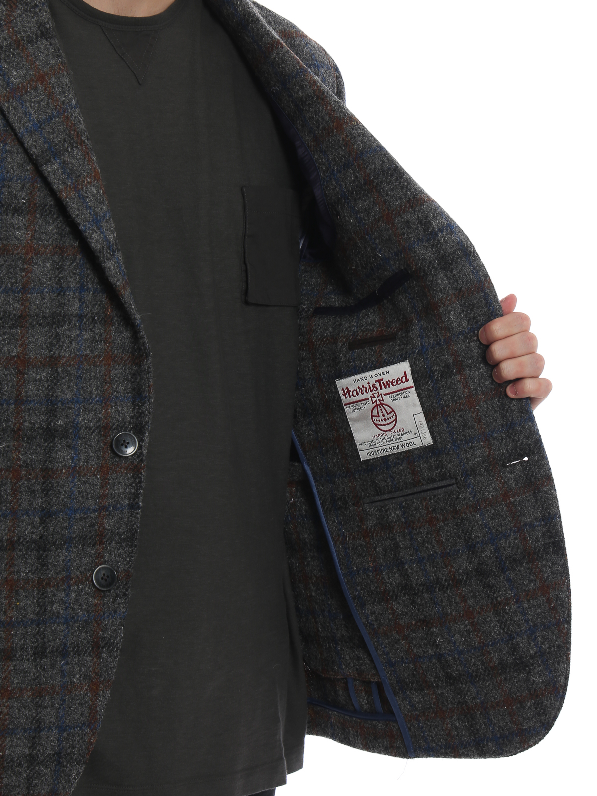 01ea502f6 Hackett - Check Pure New Wool blazer - blazers - HM442502R9BG ...