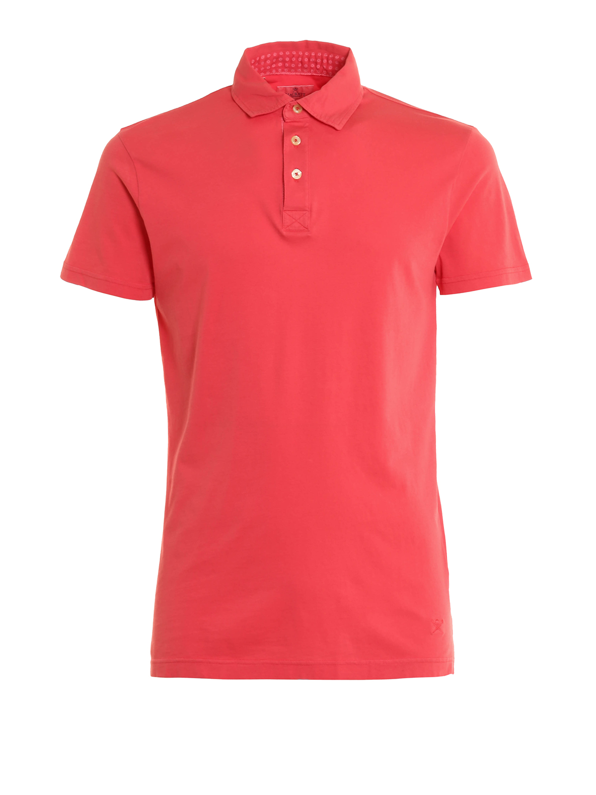 Cotton jersey polo shirt by hackett polo shirts ikrix for Cotton polo shirts for men