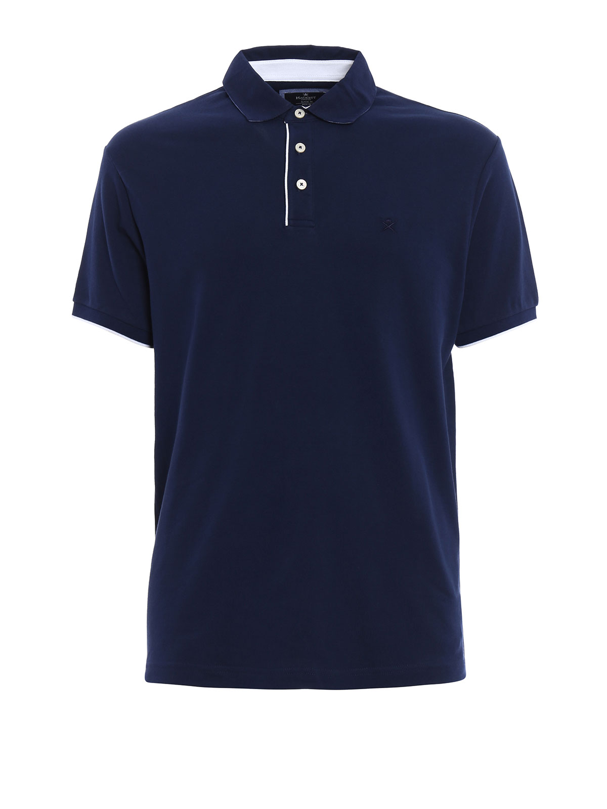 Cotton pique polo shirt by hackett polo shirts ikrix for Cotton on polo shirt