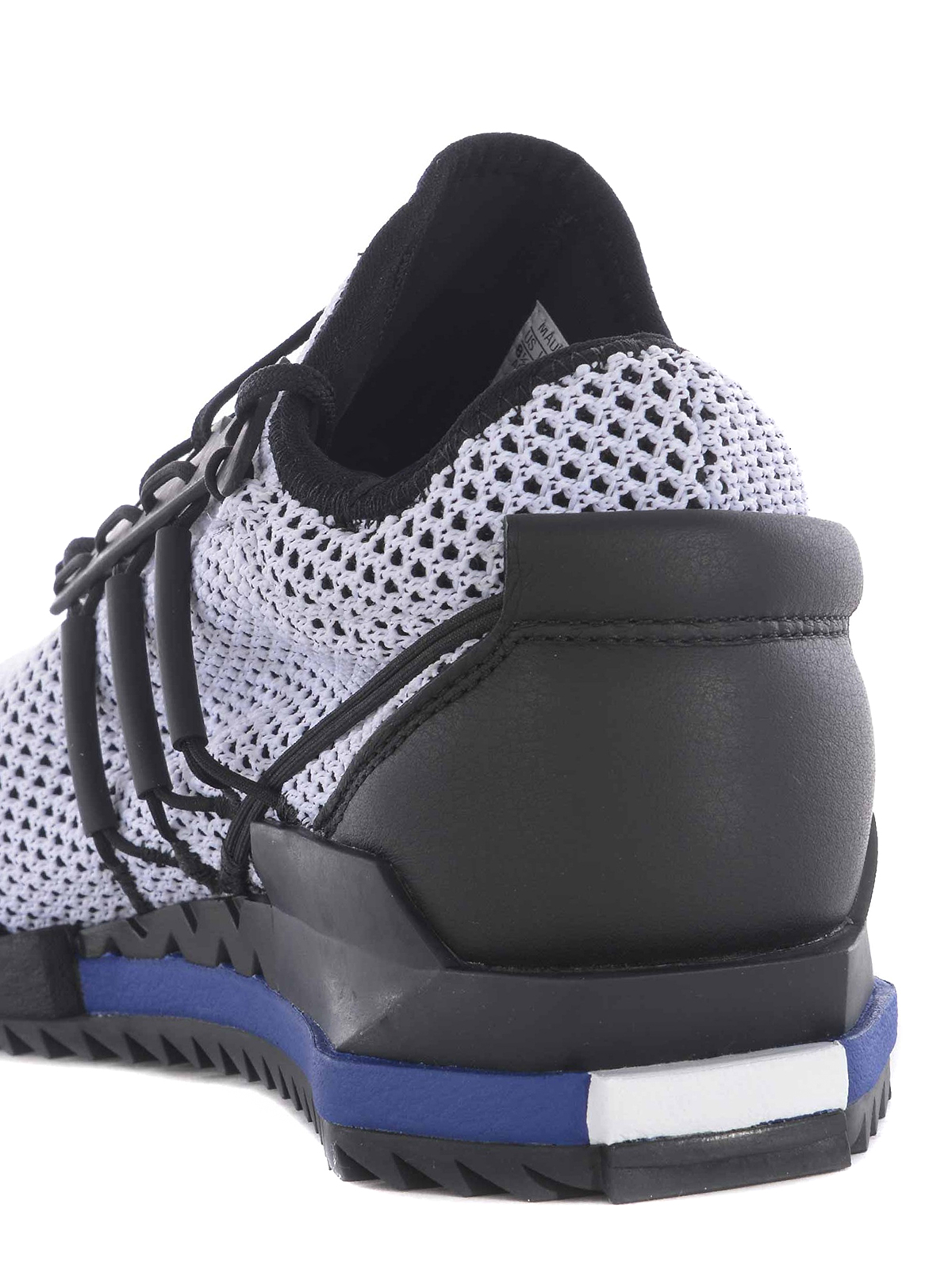 e7b8b64d2a8569 Adidas Y-3 - Harigane primeknit white sneakers - trainers ...