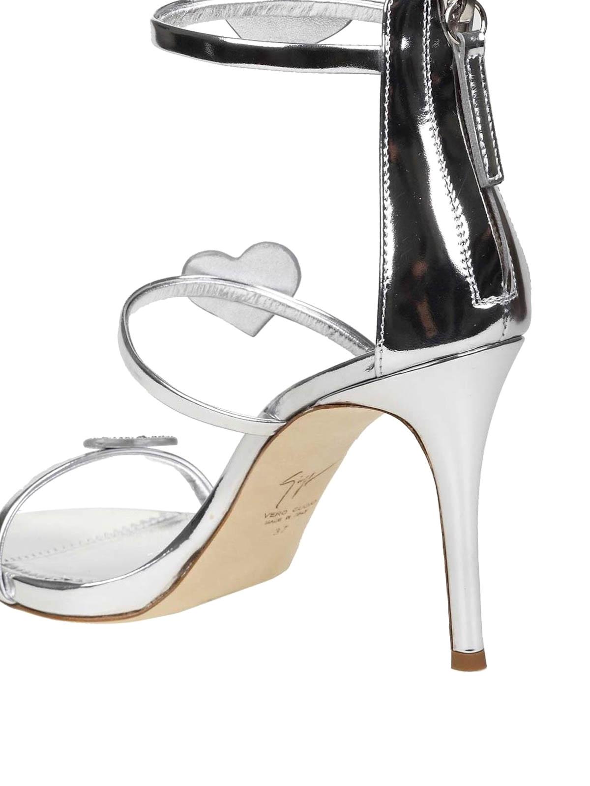 eecd52e88 Giuseppe Zanotti - Harmony Love mirror leather sandals - sandals ...