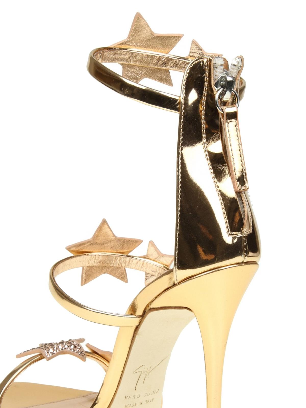 c28435f4fa3cf Giuseppe Zanotti - Harmony Star patent sandals - sandals - E800039 002