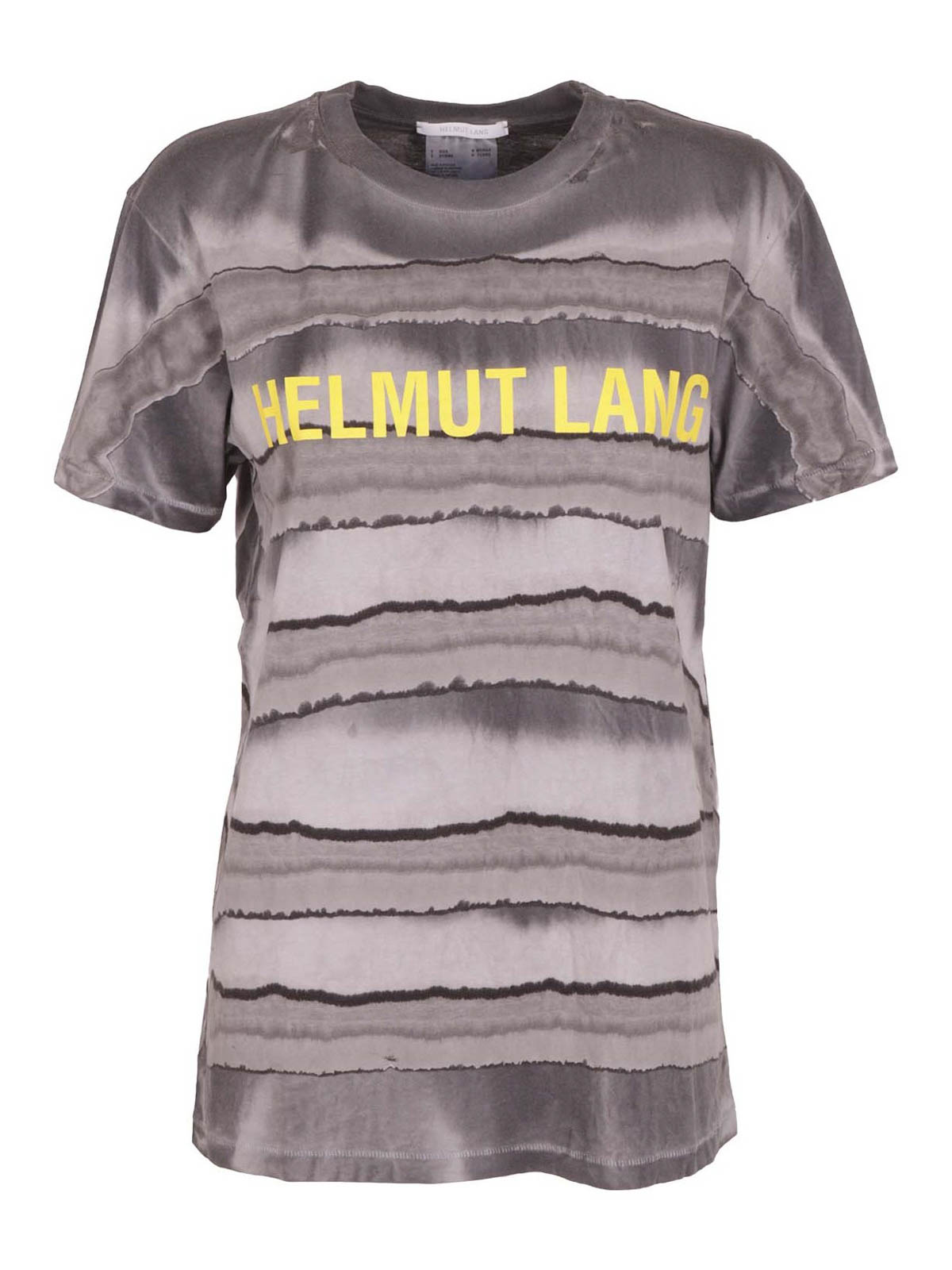 Helmut Lang PATTERNED COTTON T-SHIRT