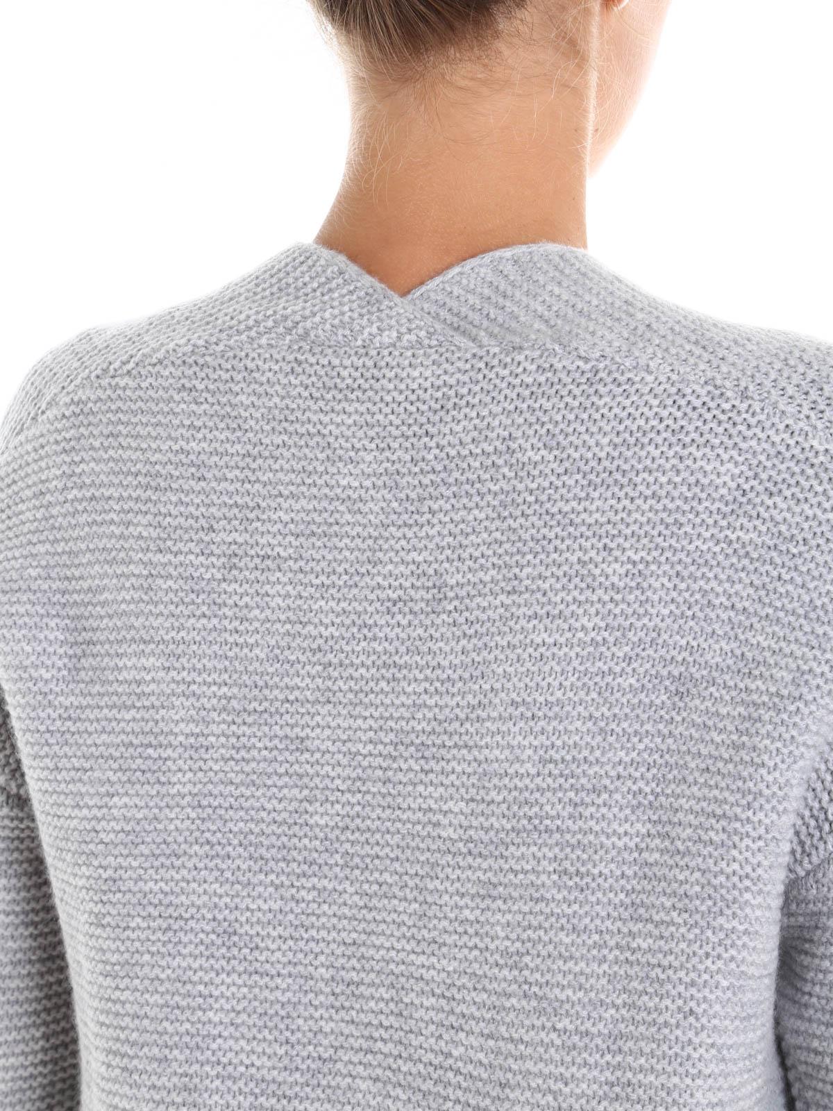 Wool and cashmere sweater by Hemisphere - v necks | iKRIX