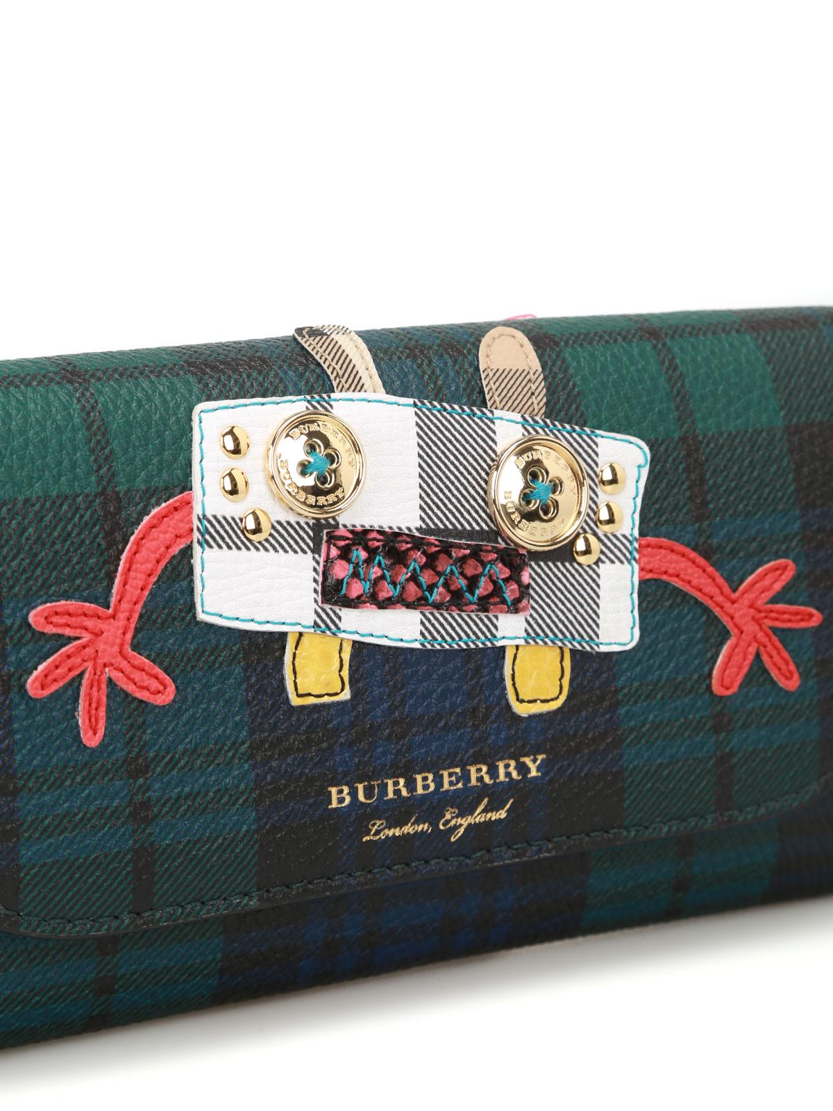 c229e8c5ba Burberry - Borsa portafoglio Henley scozzese - pochette - 4068559