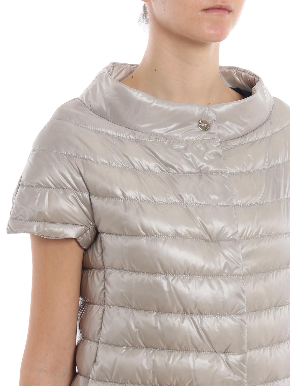 innovative design 2f8c1 6ac59 Herno - Piumino Greta grigio perla - giacche imbottite ...