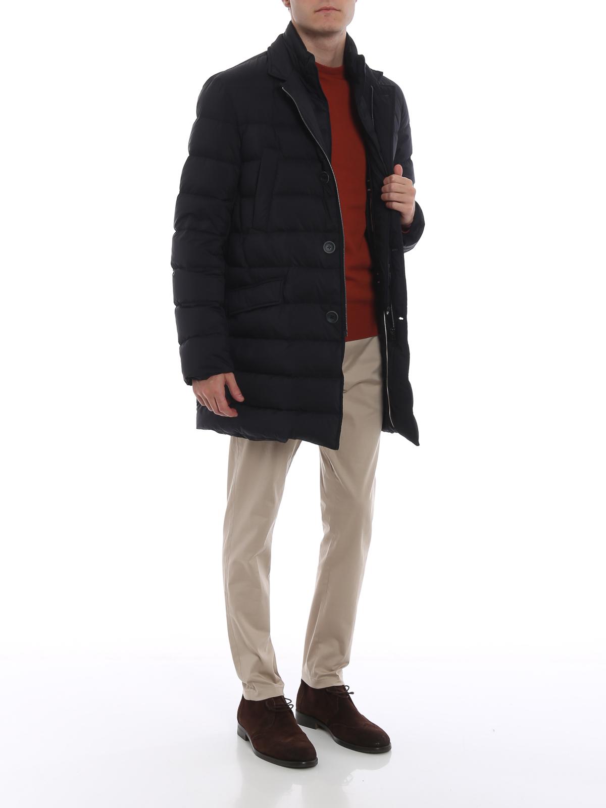 super popular efa5d f8204 Herno - Piumino Il Cappotto blu scuro - cappotti imbottiti ...