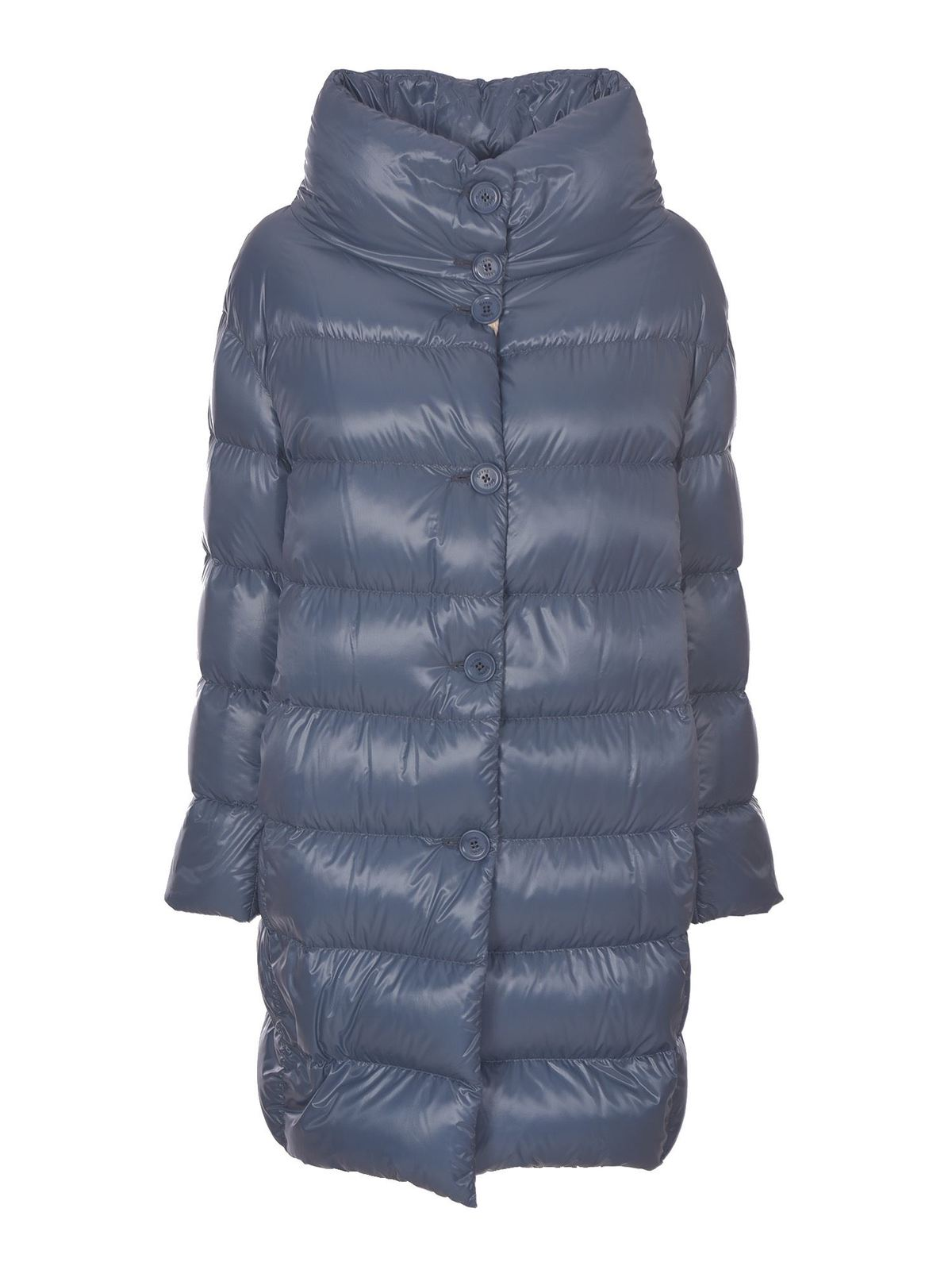 Herno BIODEGRADABLE DOWN JACKET IN LIGHT BLUE