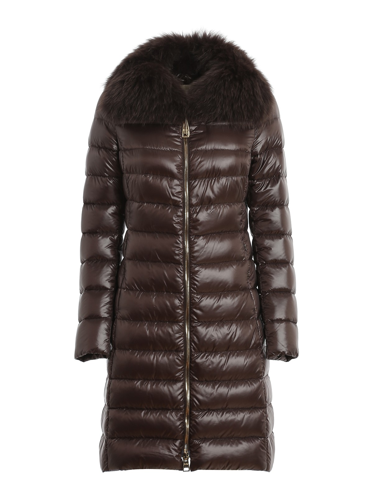 Herno ELISA FUR DETAILED PADDED COAT