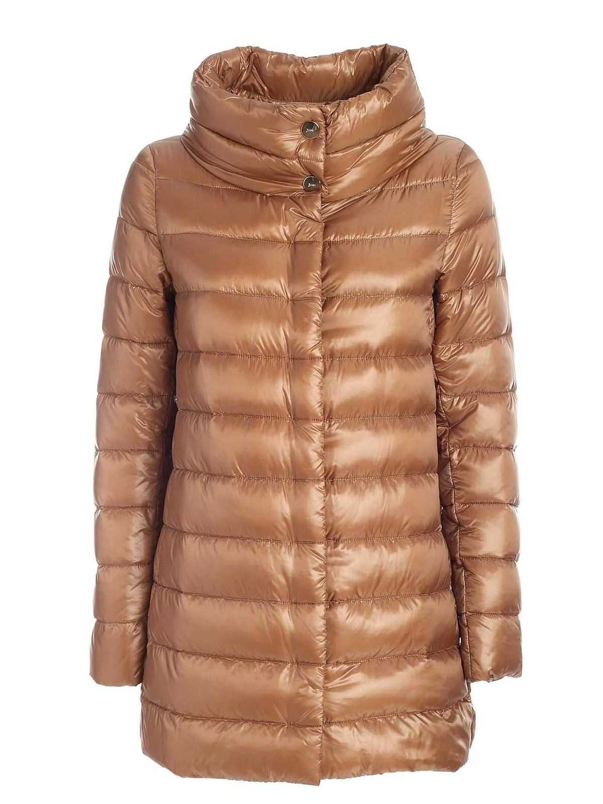 Herno ICONICO COLLECTION LONG DOWN JACKET IN BEIGE