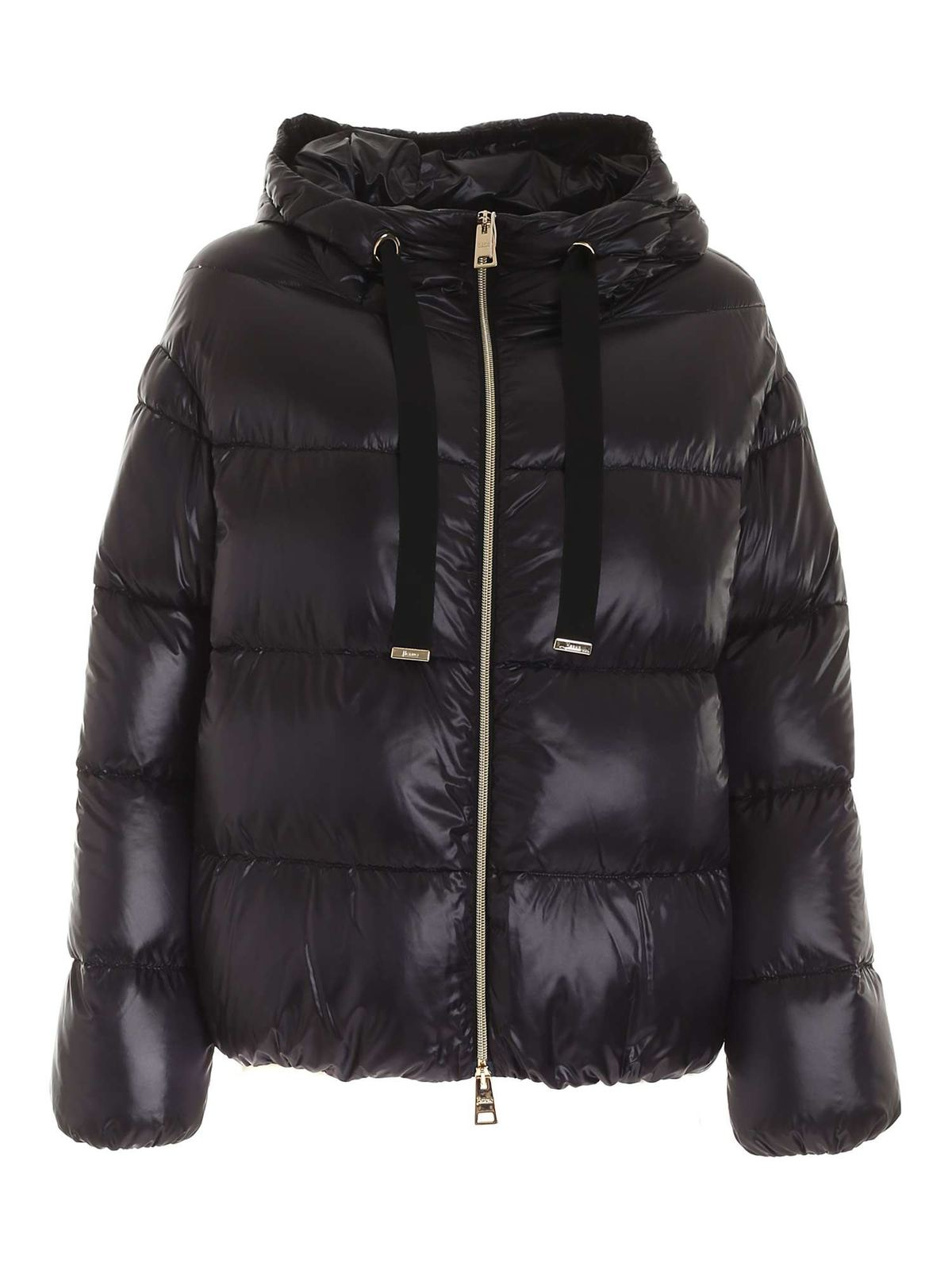 Herno QUILTED DOWN JACKET IN BLACK