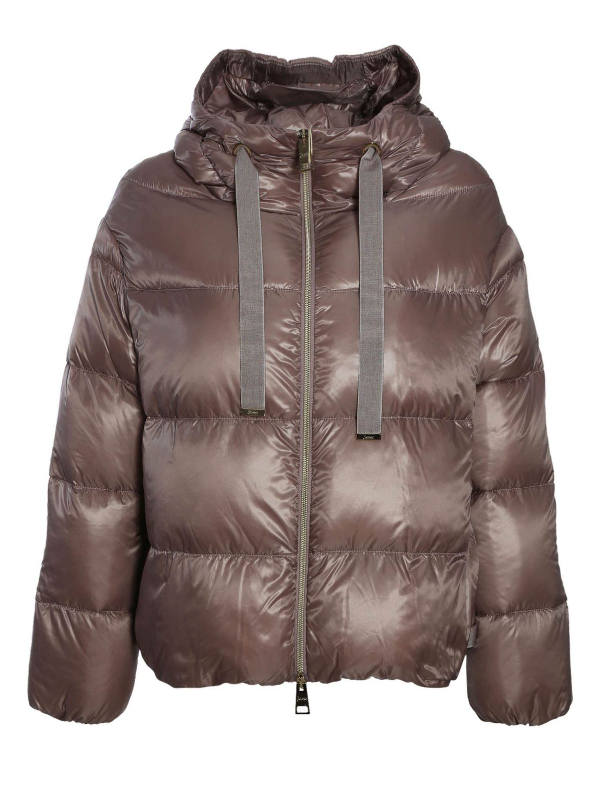 Herno QUILTED DOWN JACKET IN LILAC
