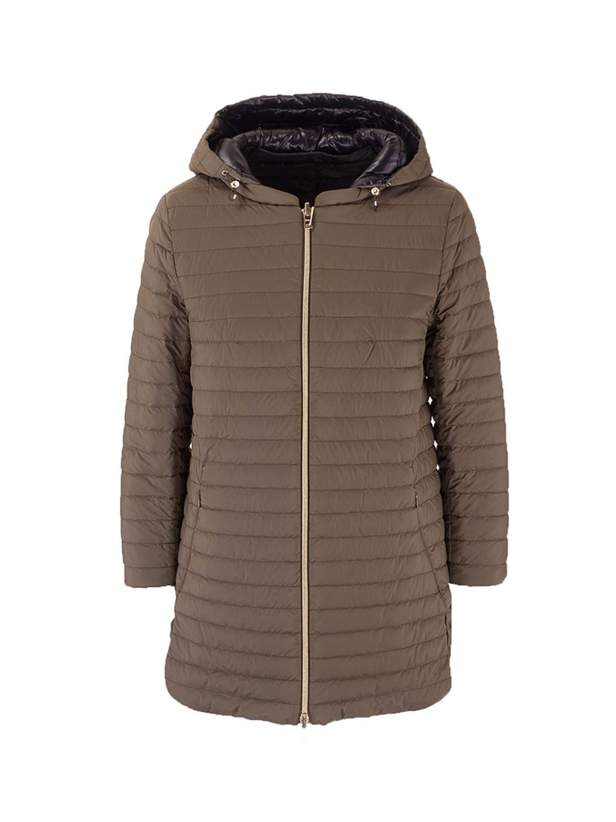 Herno REVERSIBLE DOWN JACKET IN GREEN