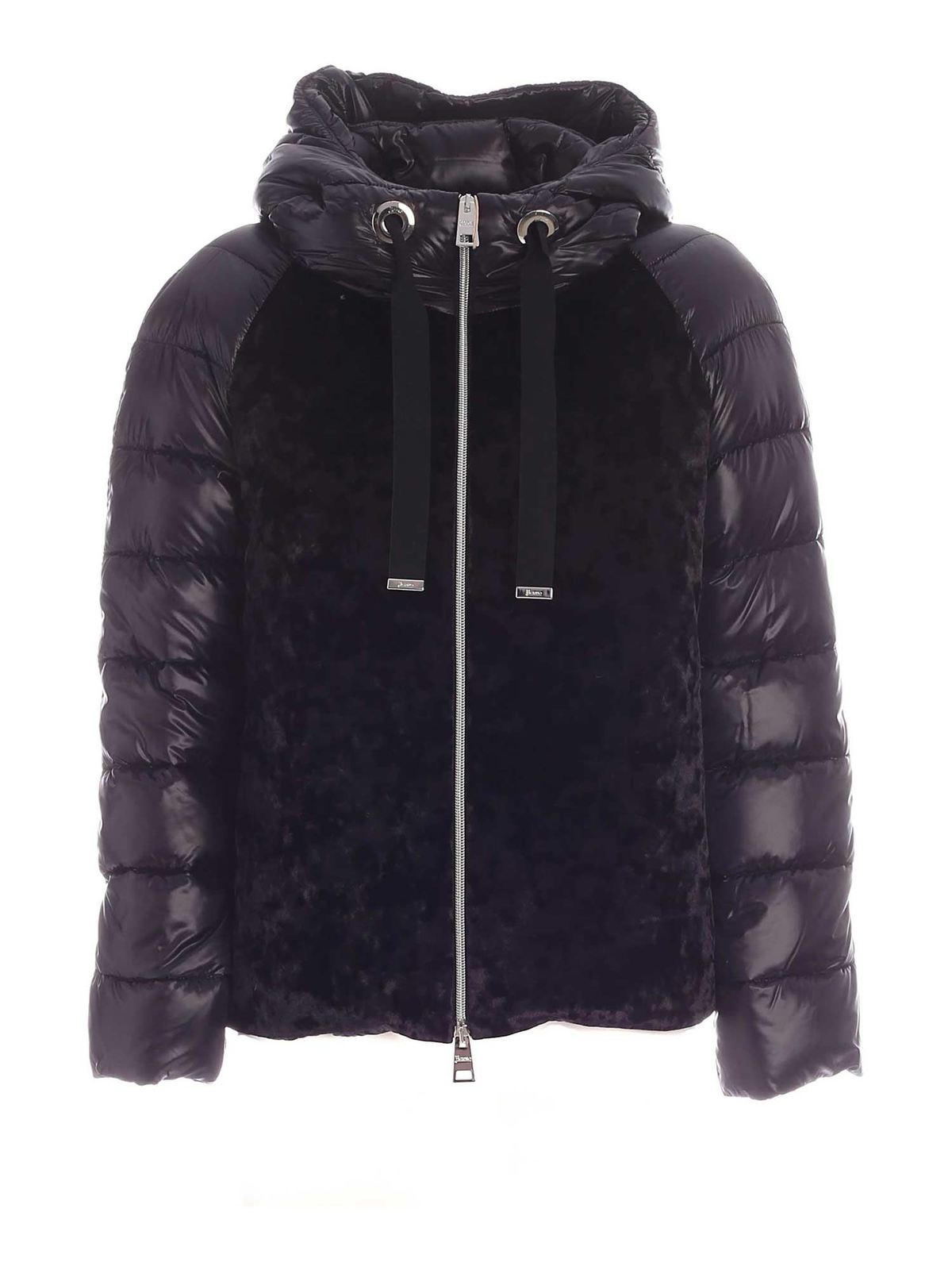 Herno BLACK NENCY RESORT PUFFER JACKET