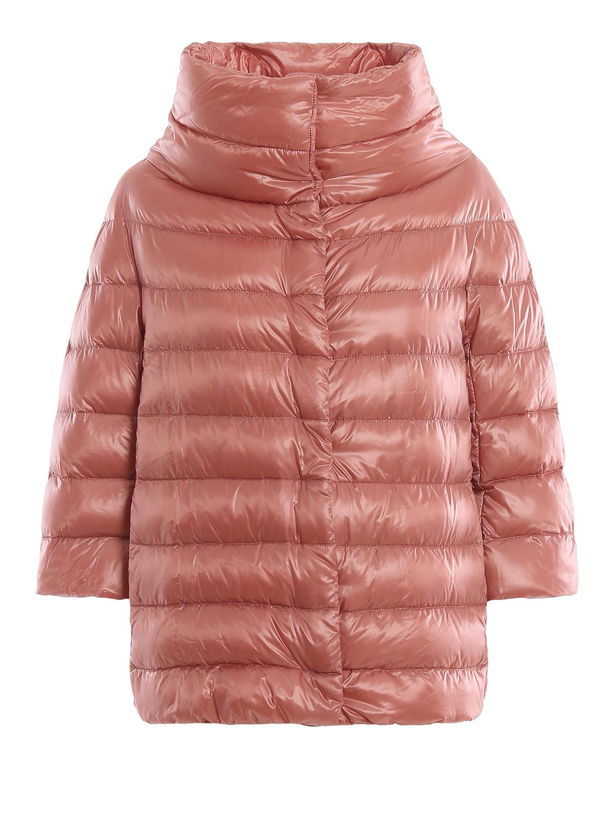 nylon jacket puffer Herno padded jackets Aminta pink JcFKl1