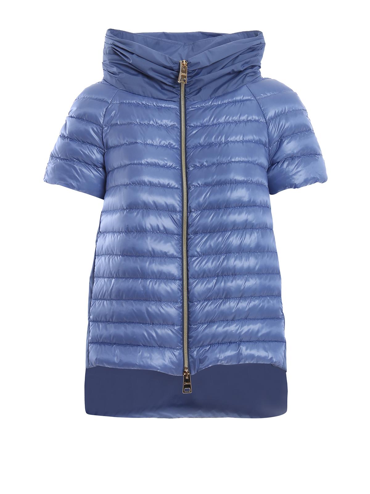 9c4b5a472d9 Herno - Light blue taffeta and nylon padded jacket - padded jackets ...