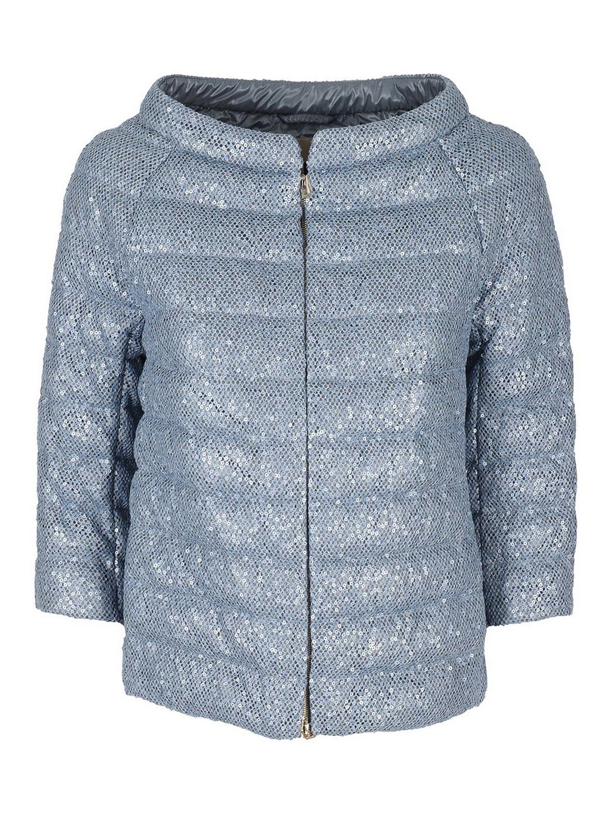 Herno Downs SEQUINS EMBELLISHED PUFFER JACKET
