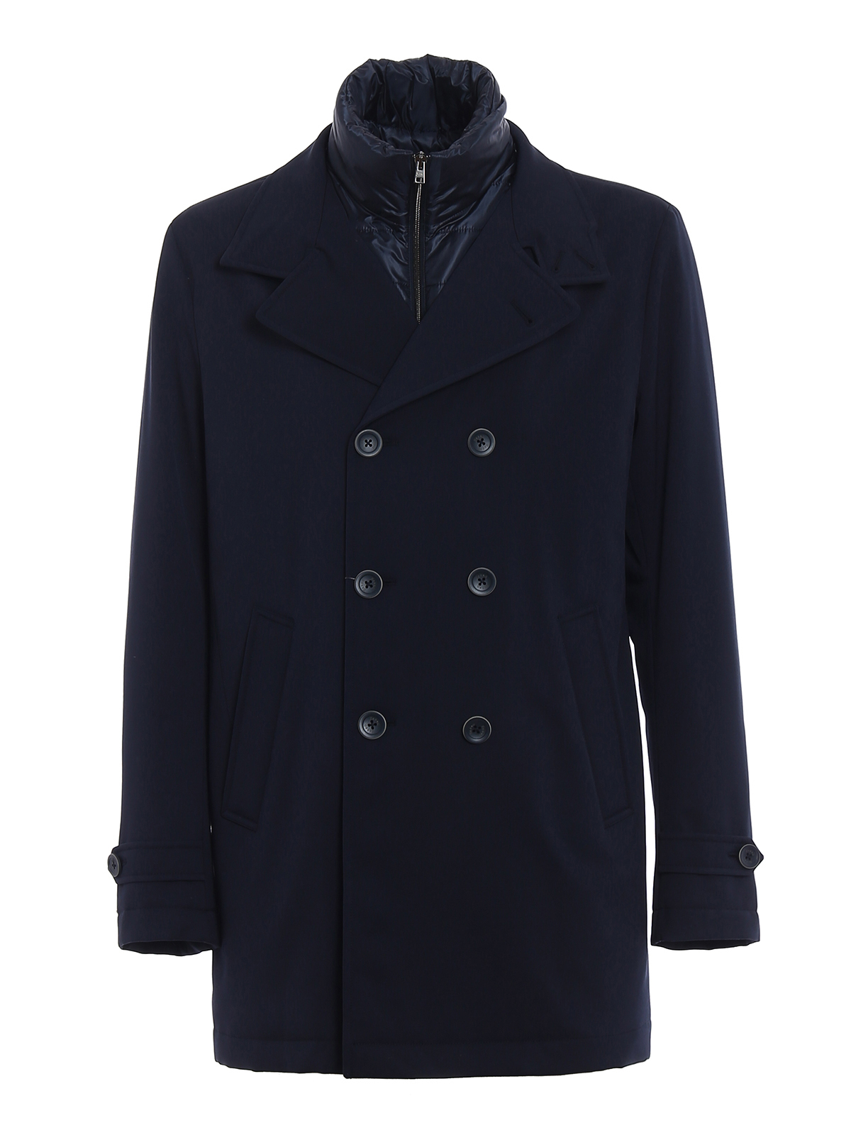 Herno: trench coats - Storm System double-breasted coat