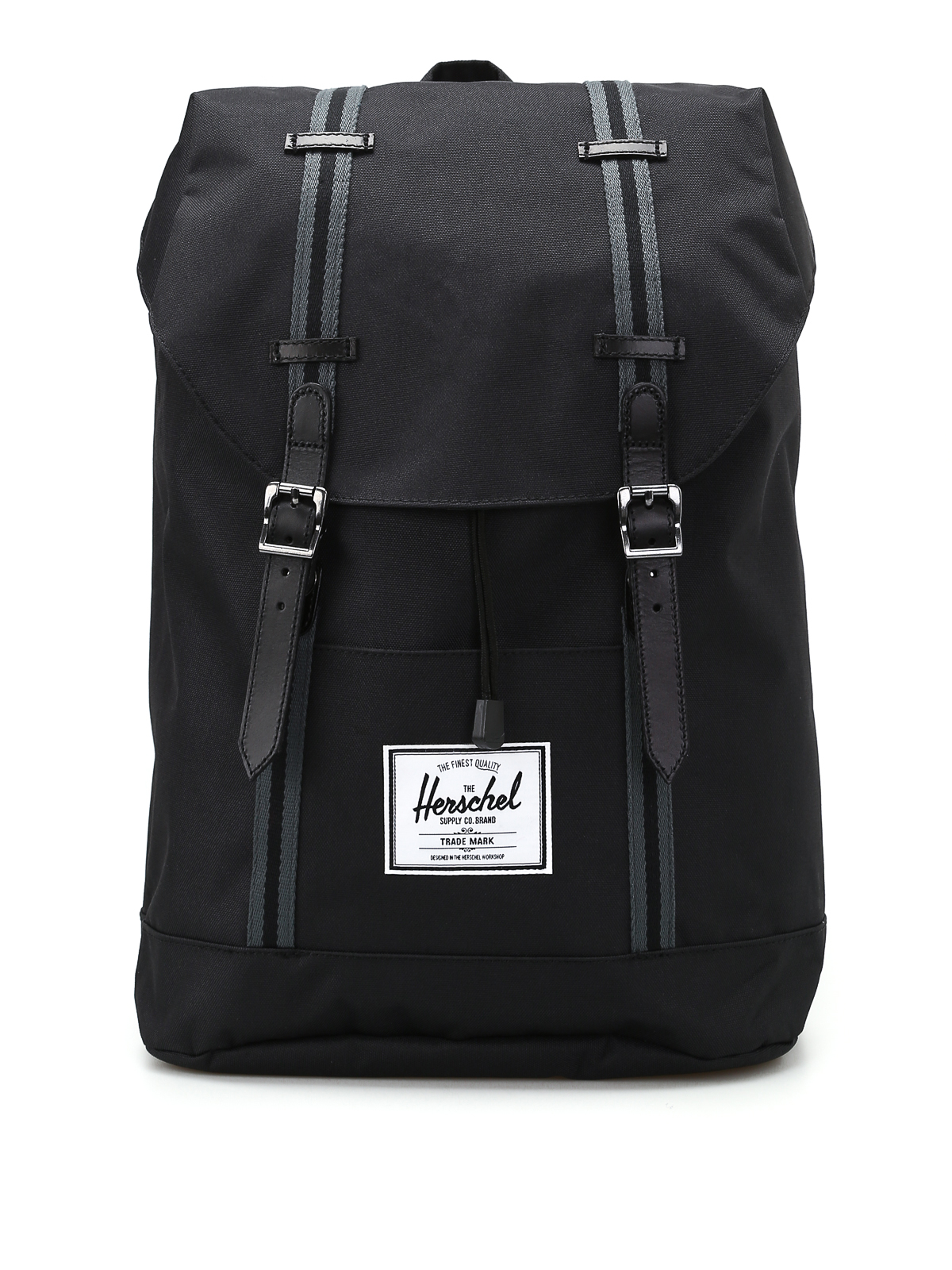 retreat black backpack by herschel backpacks ikrix. Black Bedroom Furniture Sets. Home Design Ideas