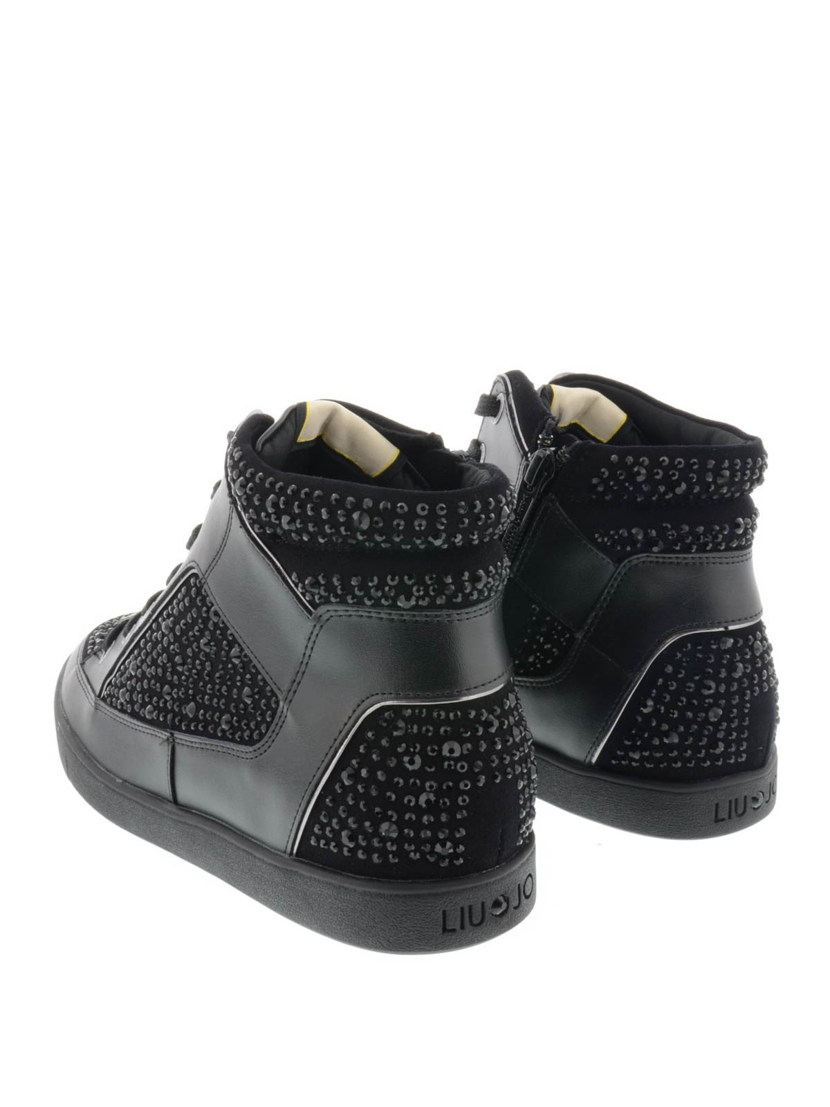Liu Jo - High top Aura sneakers - trainers - S65113P001522222 ... 09189974908