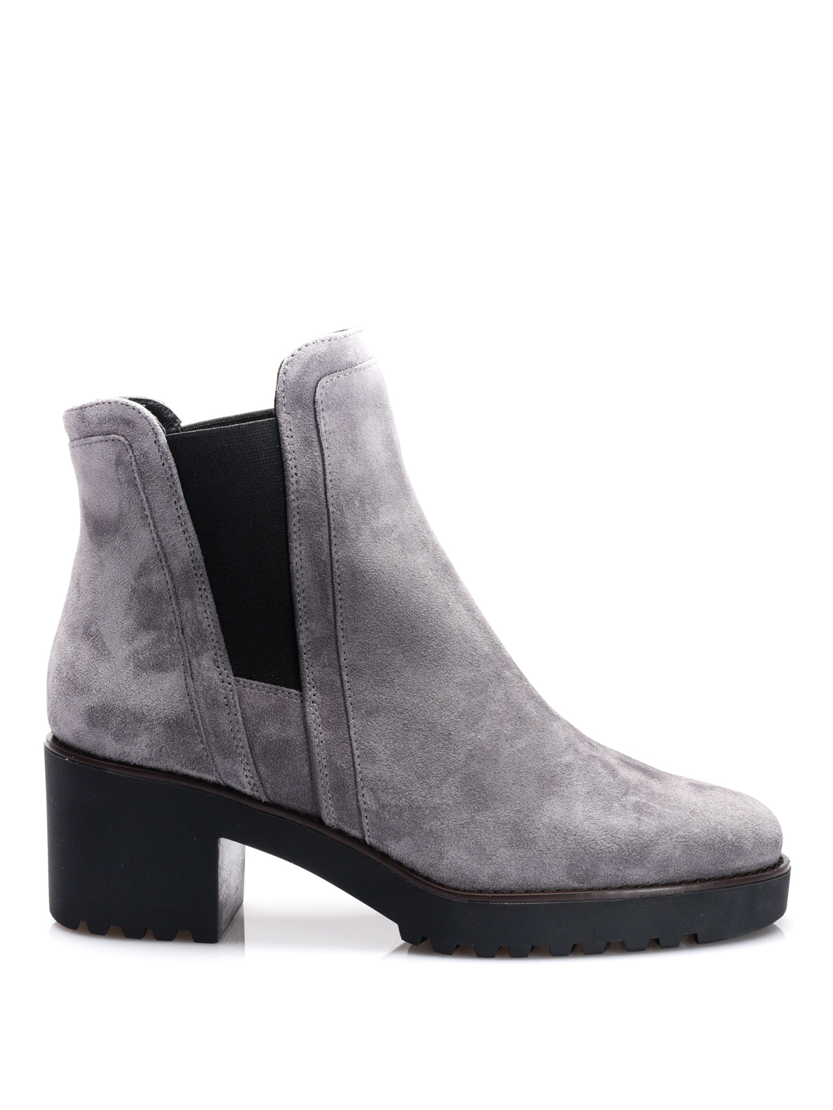 1e899c8fba Hogan - H277 suede booties - ankle boots - HXW2770S870BYEB800 ...