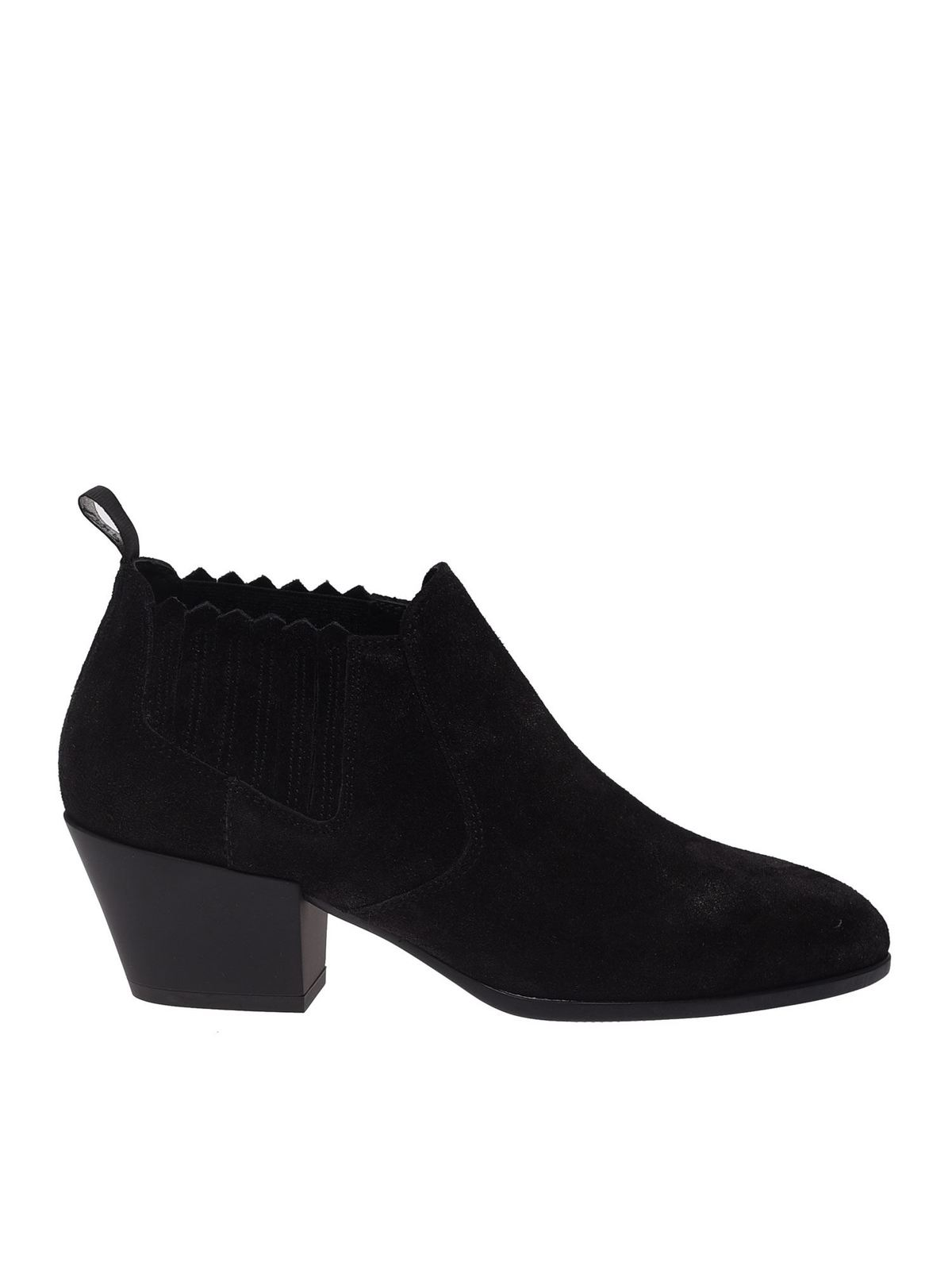 Hogan H401 CHELSEA BOOTS IN BLACK