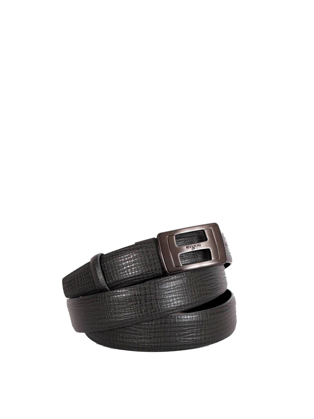 Cintura con fibbia satinata
