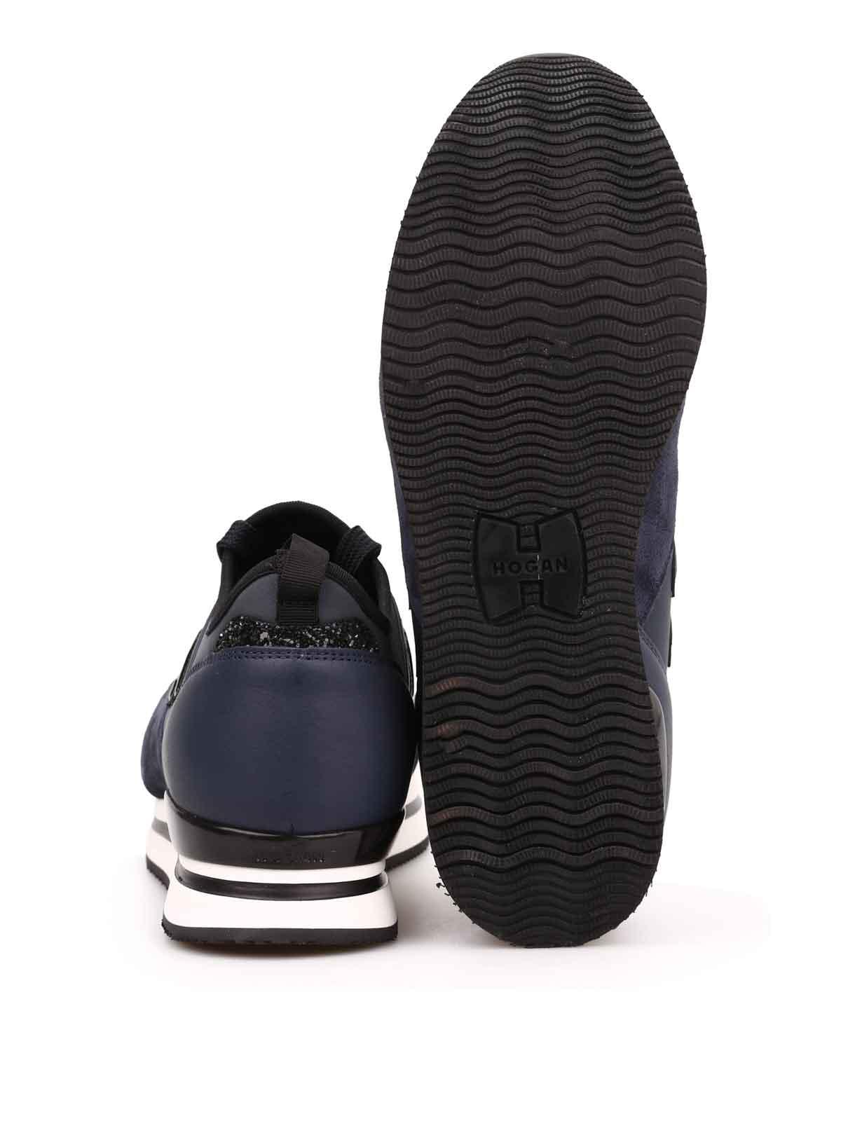 hogan sneaker h222 blau