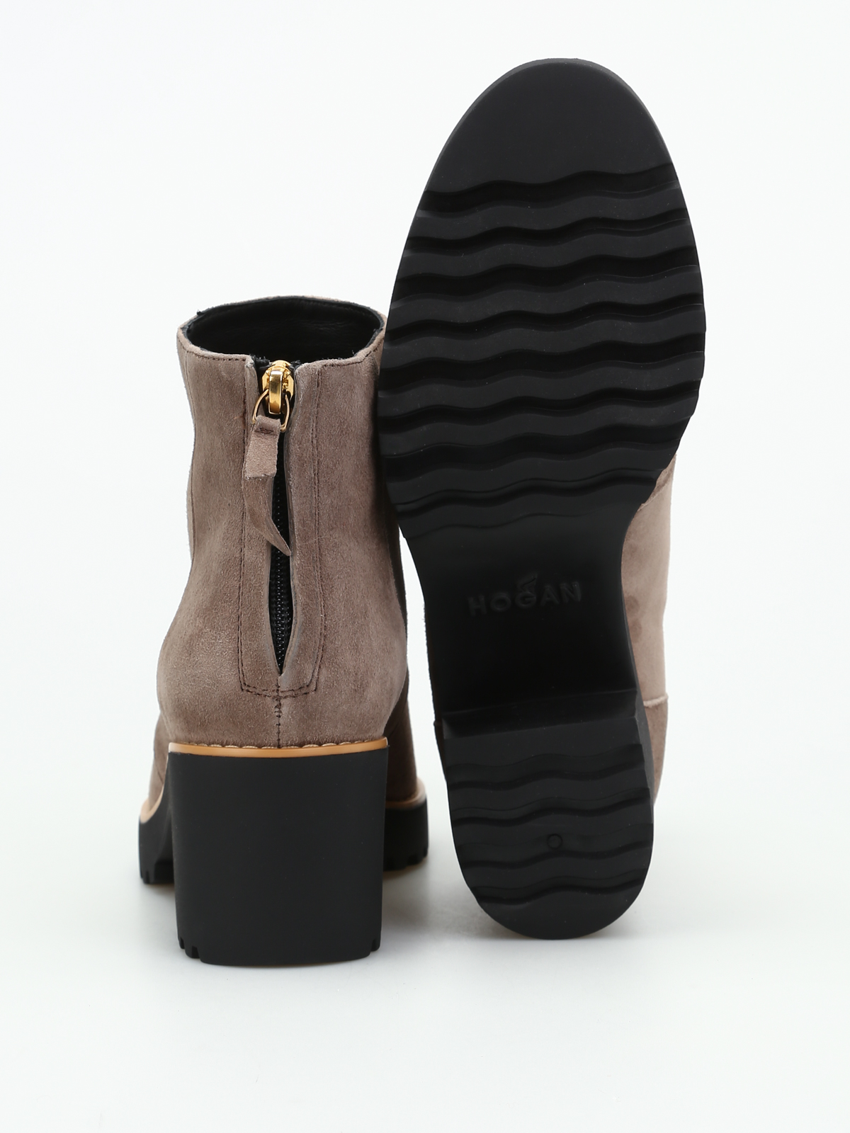 Really Sale Online Clearance Low Cost Hogan H277 Ankle Boots In Suede Buy Cheap Clearance Visit I04HcjeRL