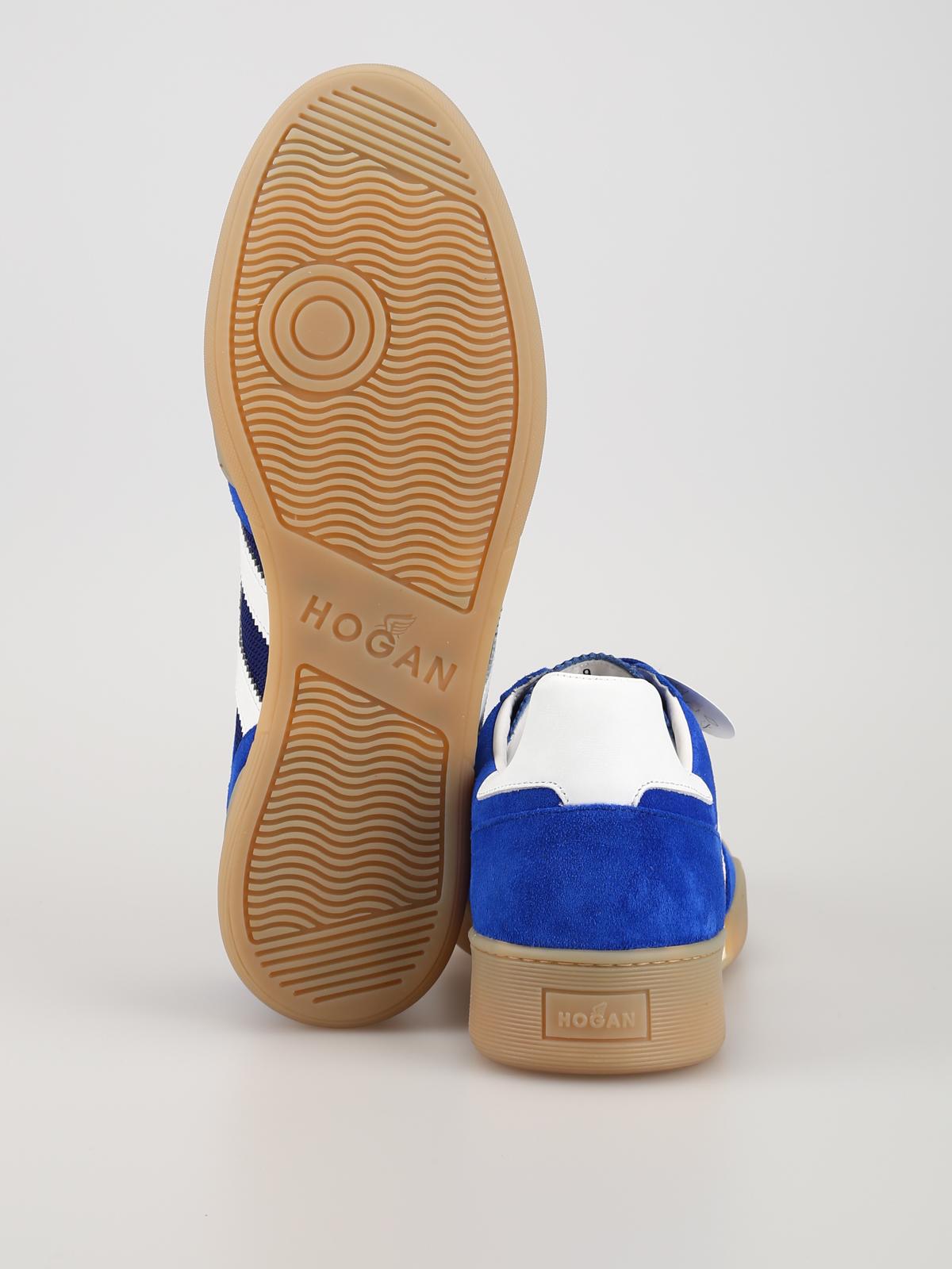 Sneakers Hogan - Sneaker H357 blu elettrico - HXM3570AC40KFE677O
