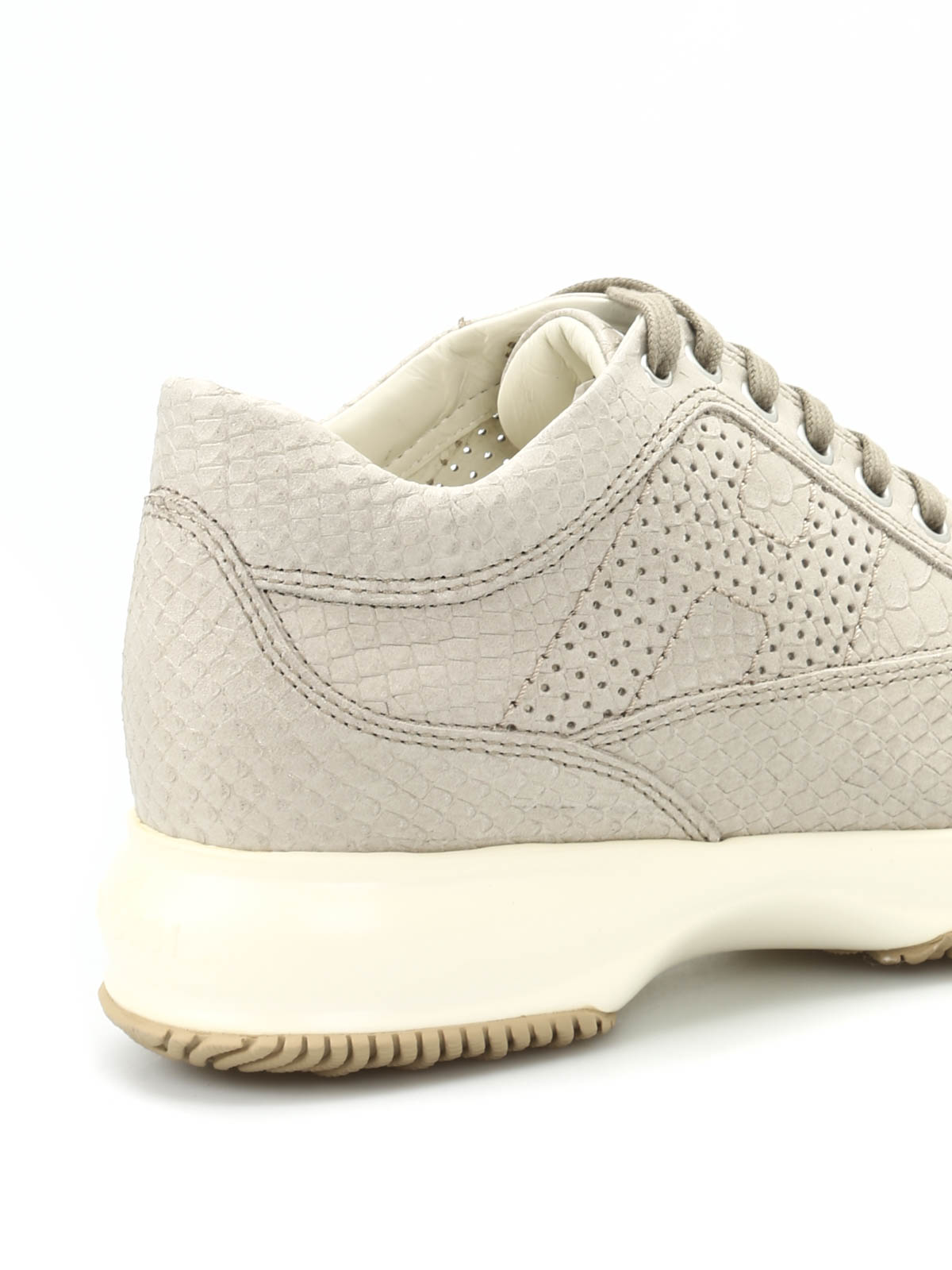 Sneakers Hogan - Sneaker Interactive effetto pitone ...