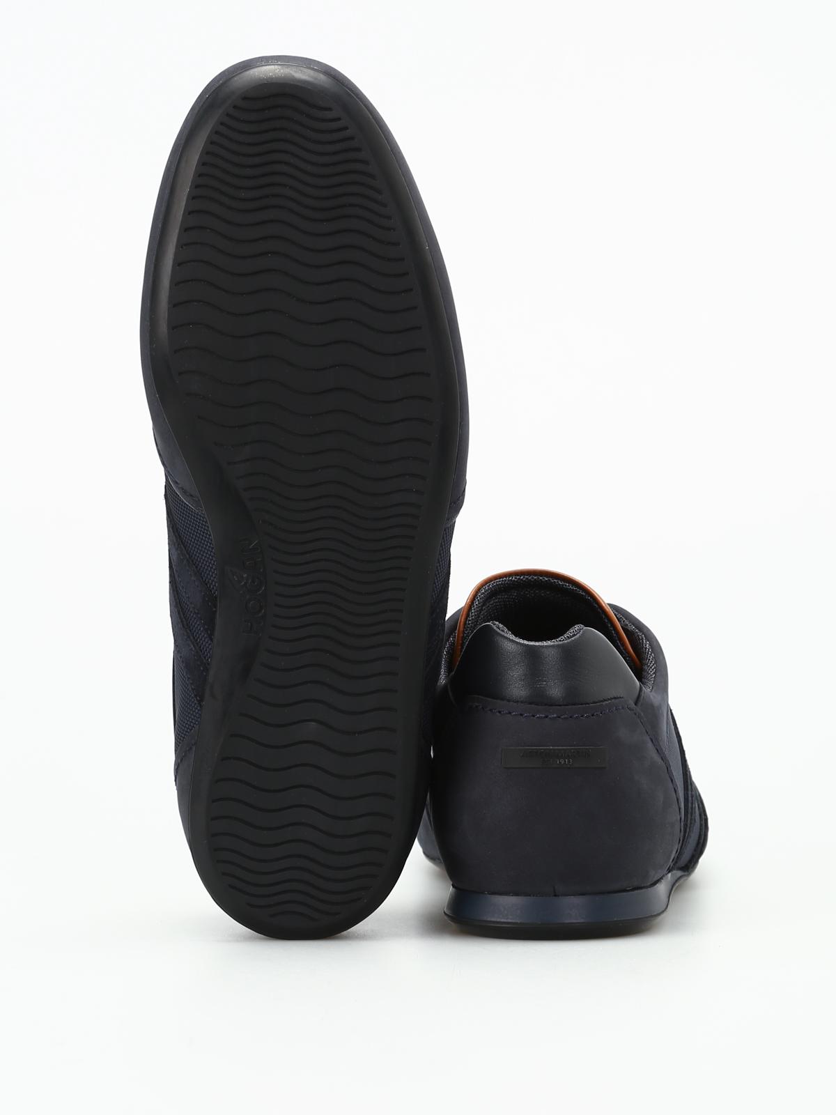 Hogan Olympia Aston Martin Blue Sneakers اسپرت اسنیکرز H1m0570z910hms8430