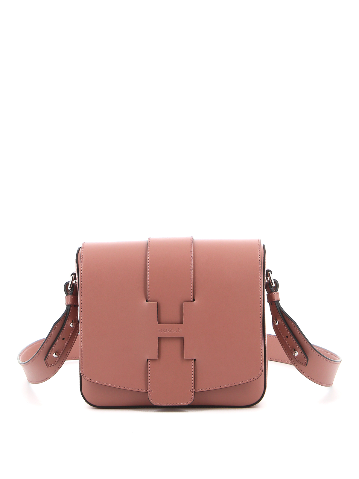Hogan RAW-CUT H LEATHER SMALL BAG