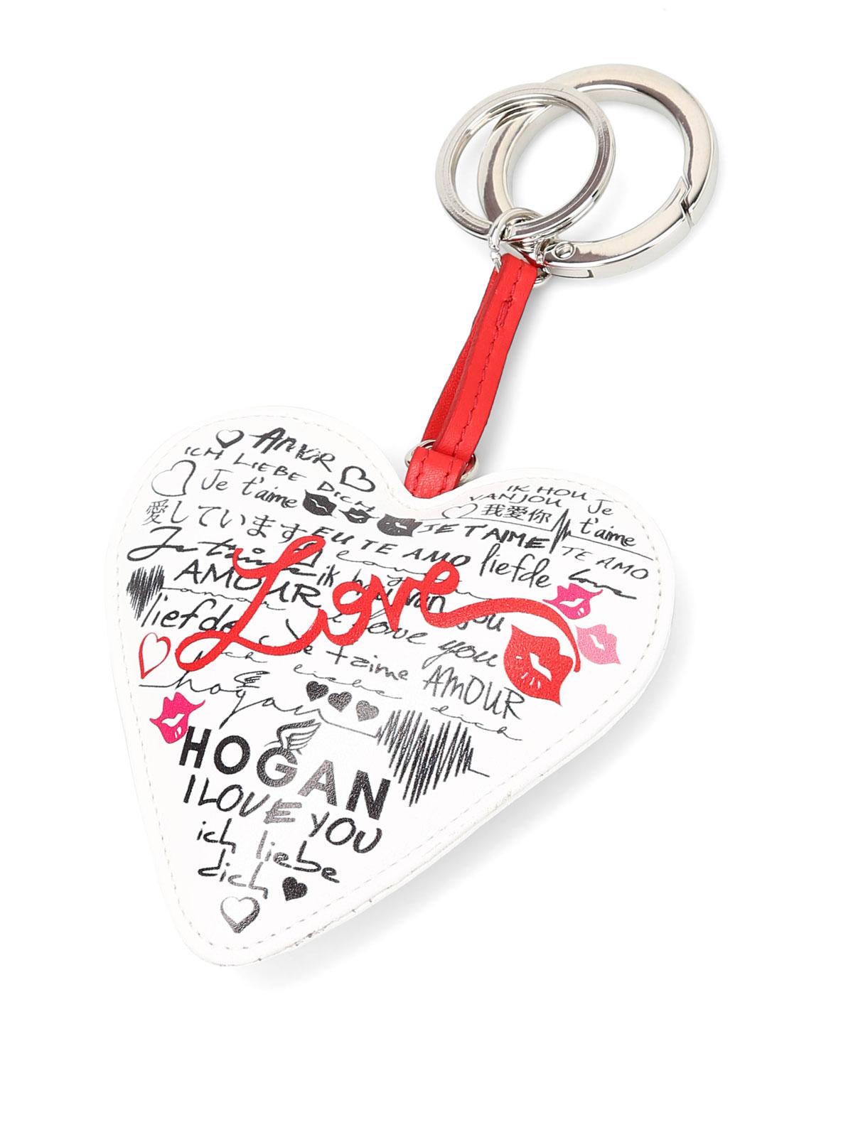 Key holders Hogan - Love key-holder - KLWADEG0200GGW0S10 | iKRIX.com