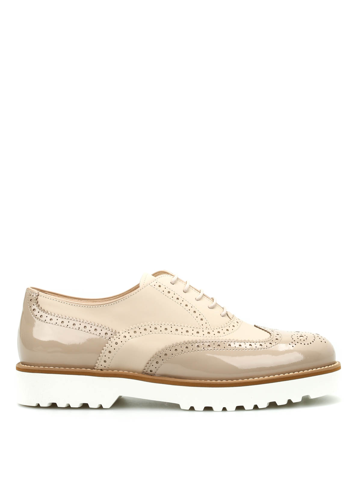 Lace-ups shoes Hogan - H259 Route Francesina Bucature ...