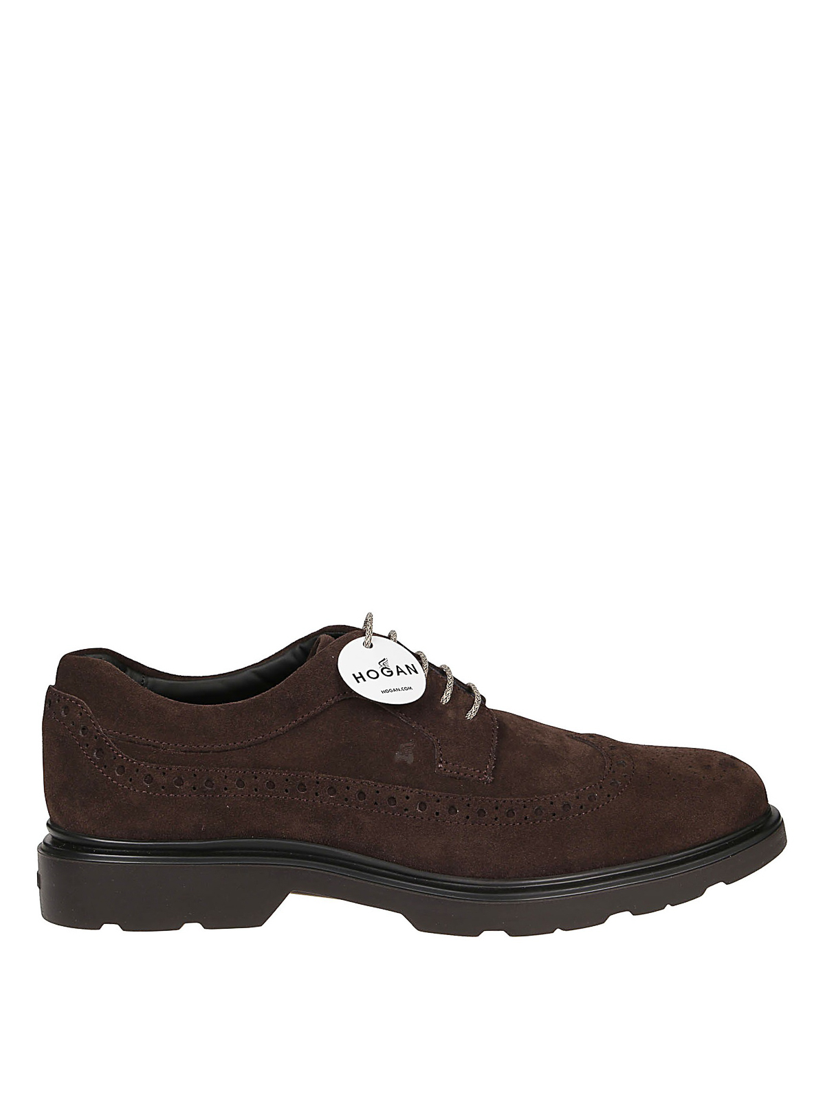 Hogan ROUTE H393 SUEDE DERBY BROGUES