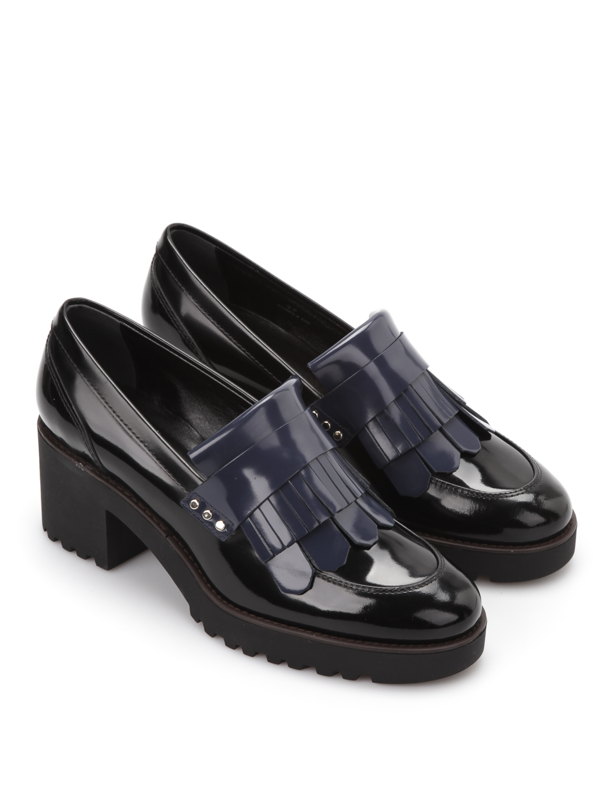 Mocassini e slippers Hogan - Mocassini con tacco - HXW2770T31098A081F