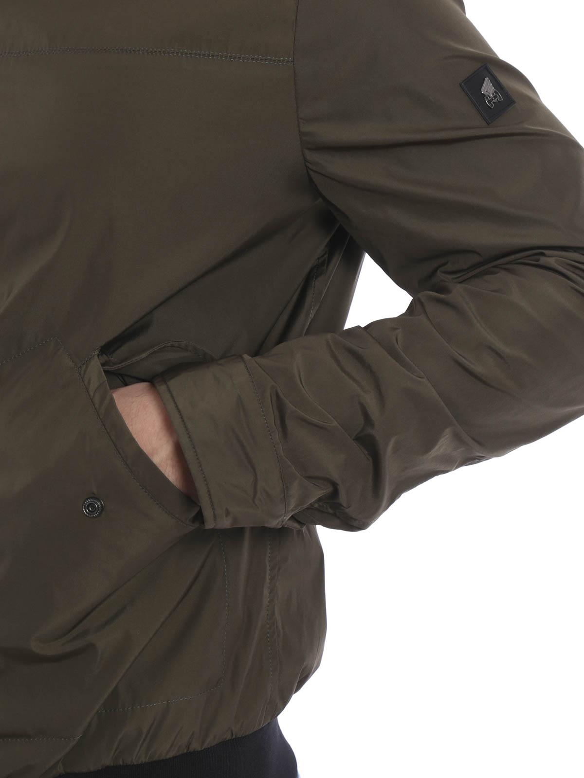 Bombers Hogan - Nylon bomber jacket - KJM11322060MHXV604 | iKRIX.com