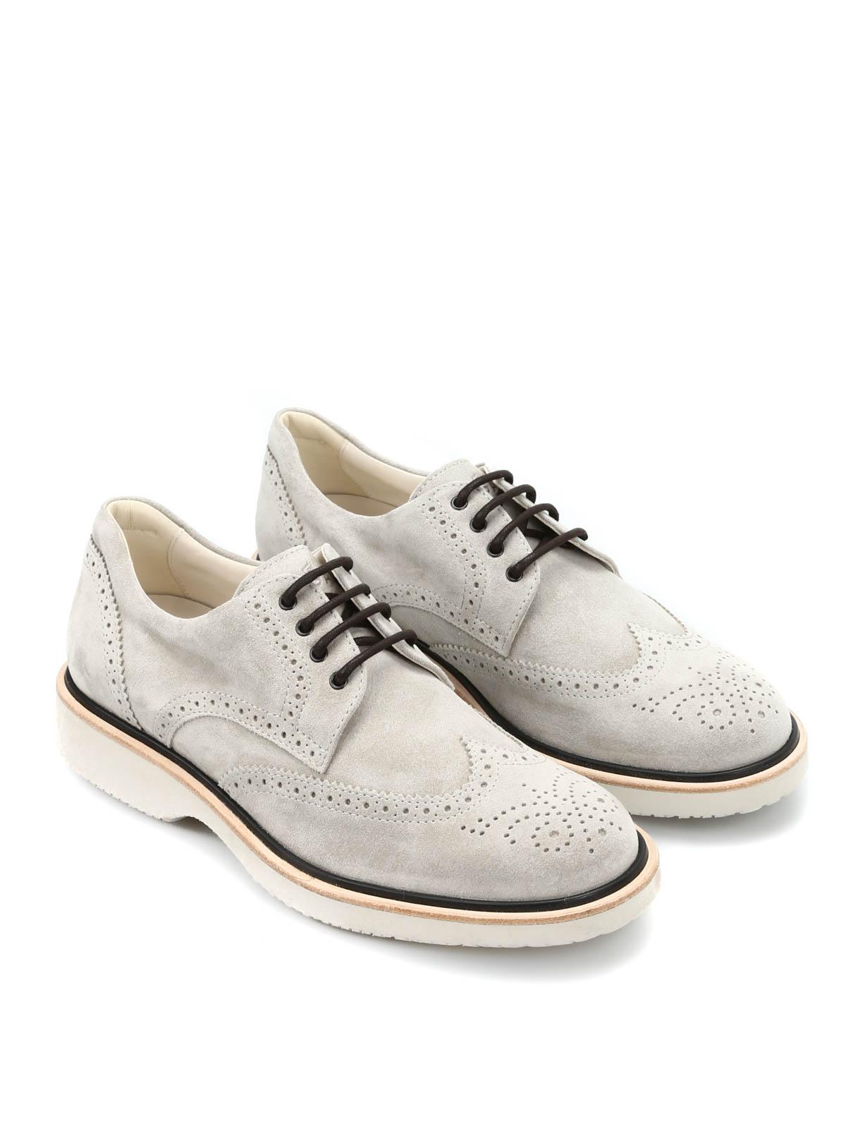 Lace-ups shoes Hogan - H217 Route Derby - HXM2170M081D549999 ...