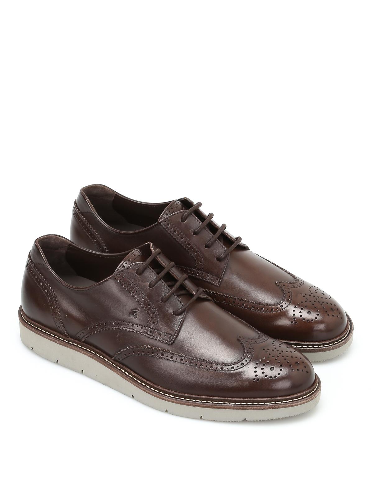 Hogan - Stringate Derby H322 - scarpe stringate - HXM3220Y2107X7S800 633d122a66d