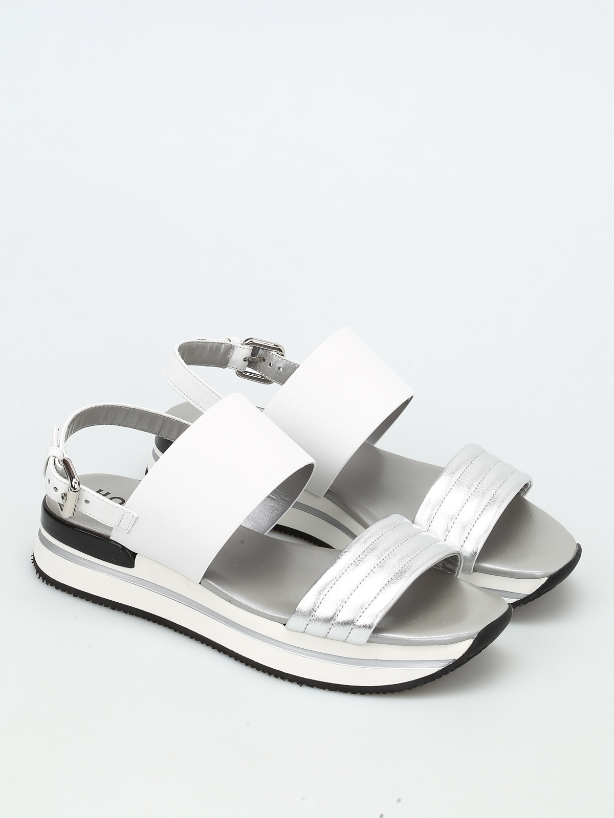 c6f45637e294 Hogan - H257 platform sandals - sandals - HXW2570X750EZ50906