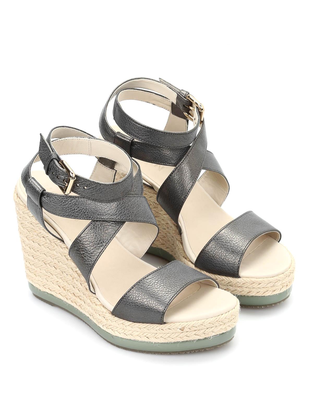 Hogan - H286 Zeppa Yuta sandals - sandals - HXW2860U070BT8V604 ...