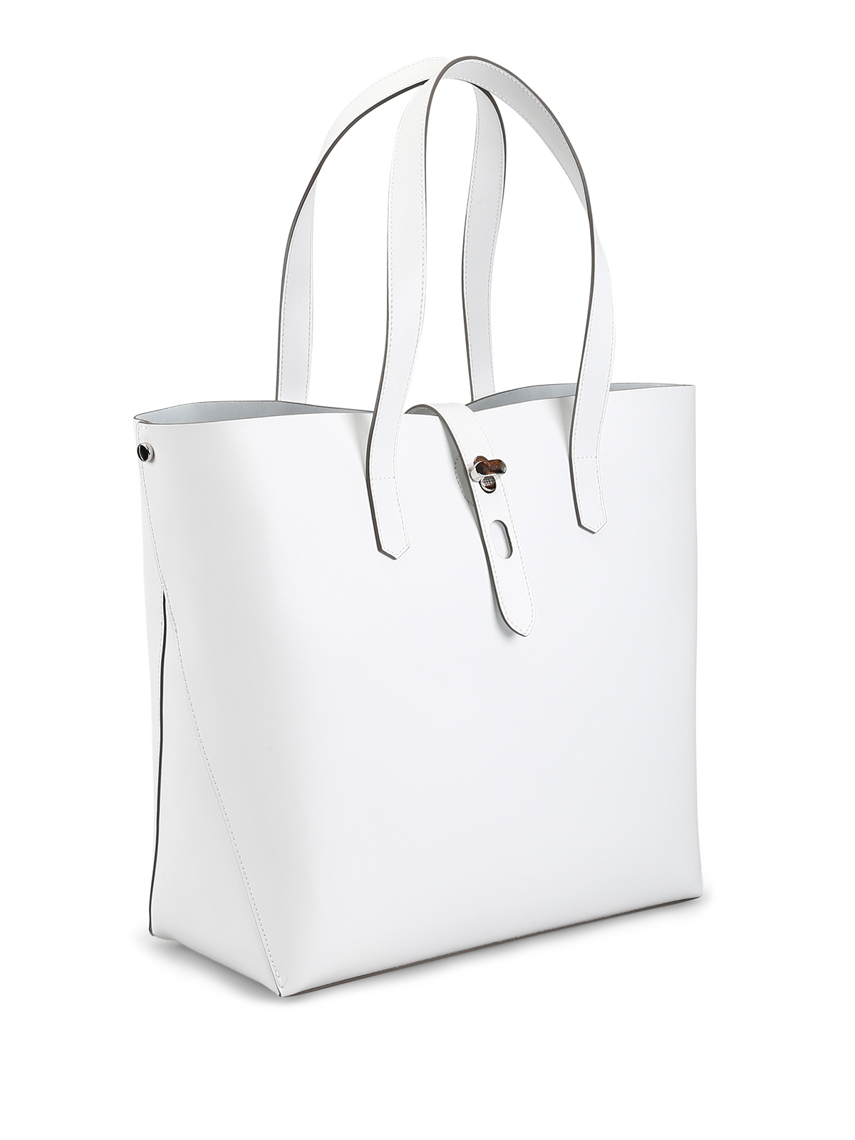 cf33c3b4c4b Hogan - White leather tote - totes bags - KBW010A1400J60B001   iKRIX.com