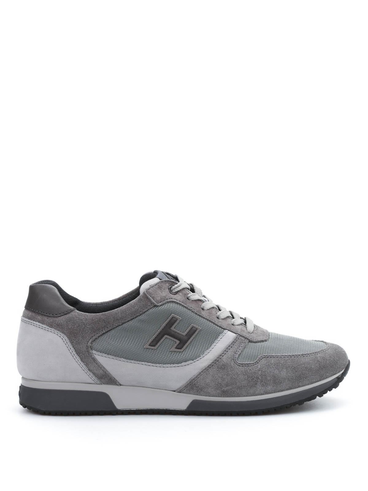 Hogan - H198 Slash H Flock sneakers - trainers - HXM1980R9709E7681S