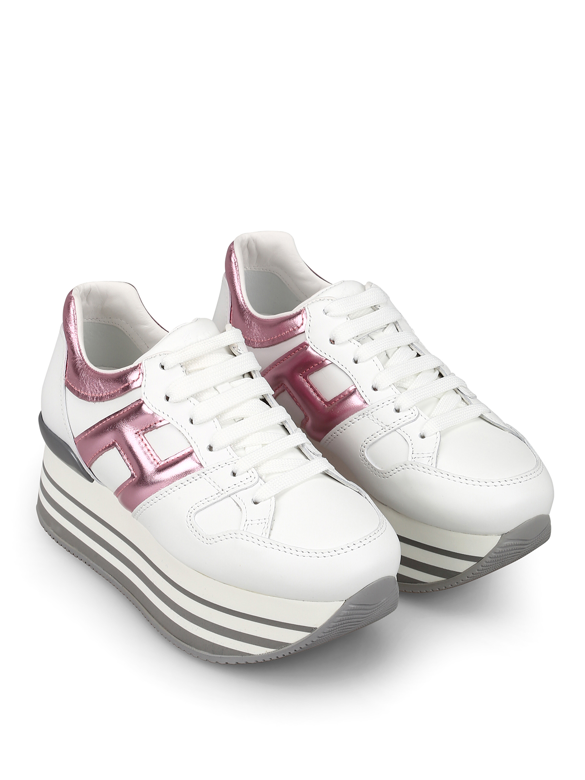 Hogan - H283 sneakers with maxi 222 sole - trainers ...